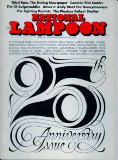National Lampoon: Volume 1 #25 comic books for sale