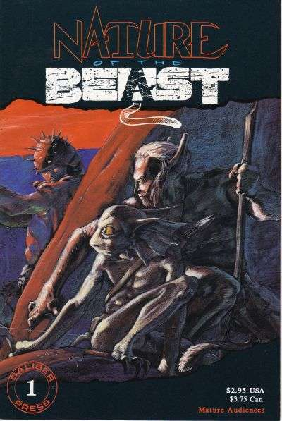 Nature of the Beast comic books