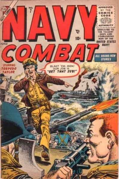 Navy Combat #7 comic books - cover scans photos Navy Combat #7 comic books - covers, picture gallery