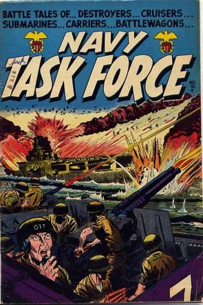 Navy Task Force comic books