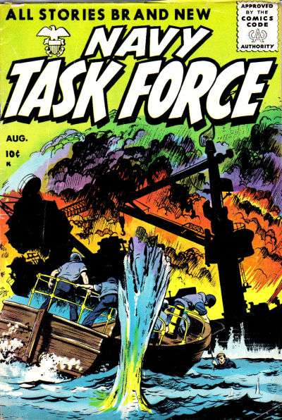 Navy Task Force #5 comic books - cover scans photos Navy Task Force #5 comic books - covers, picture gallery