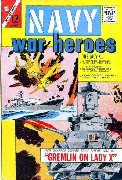 Navy War Heroes comic books
