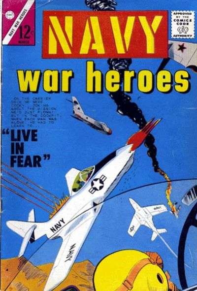 Navy War Heroes #2 Comic Books - Covers, Scans, Photos  in Navy War Heroes Comic Books - Covers, Scans, Gallery