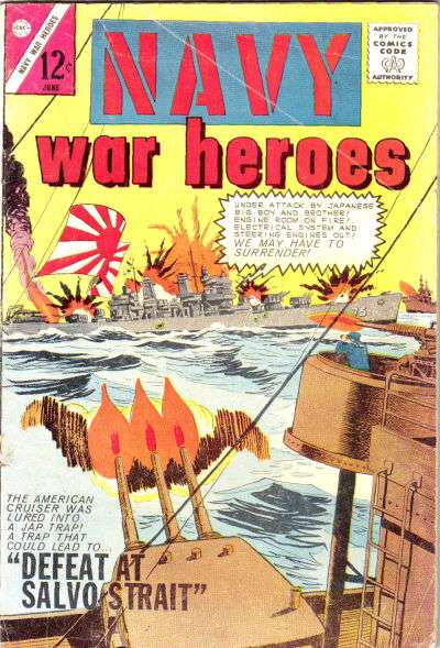 Navy War Heroes #3 Comic Books - Covers, Scans, Photos  in Navy War Heroes Comic Books - Covers, Scans, Gallery