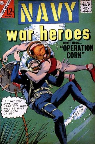 Navy War Heroes #5 Comic Books - Covers, Scans, Photos  in Navy War Heroes Comic Books - Covers, Scans, Gallery
