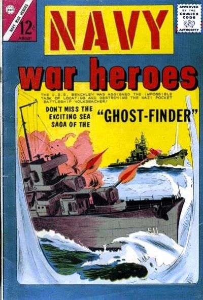 Navy War Heroes #6 Comic Books - Covers, Scans, Photos  in Navy War Heroes Comic Books - Covers, Scans, Gallery