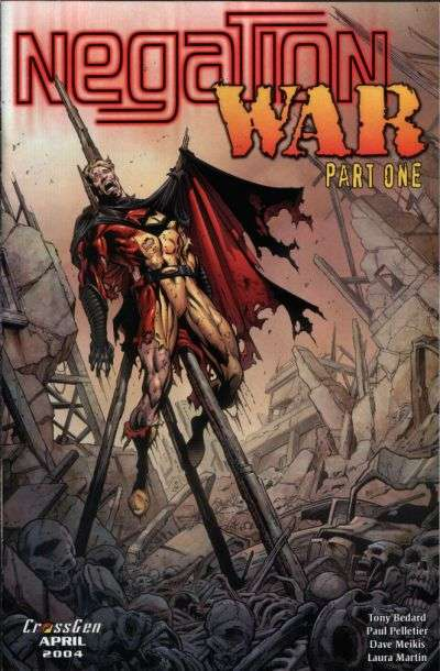 Negation War comic books