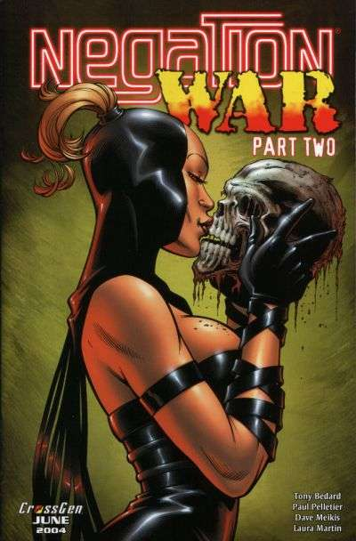 Negation War #2 Comic Books - Covers, Scans, Photos  in Negation War Comic Books - Covers, Scans, Gallery