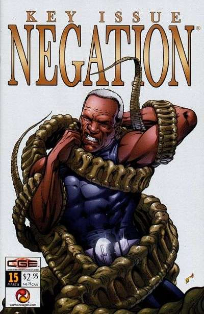 Negation #15 Comic Books - Covers, Scans, Photos  in Negation Comic Books - Covers, Scans, Gallery