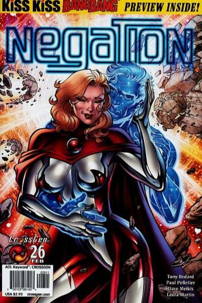 Negation #26 Comic Books - Covers, Scans, Photos  in Negation Comic Books - Covers, Scans, Gallery
