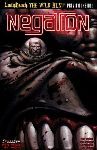 Negation #27 Comic Books - Covers, Scans, Photos  in Negation Comic Books - Covers, Scans, Gallery