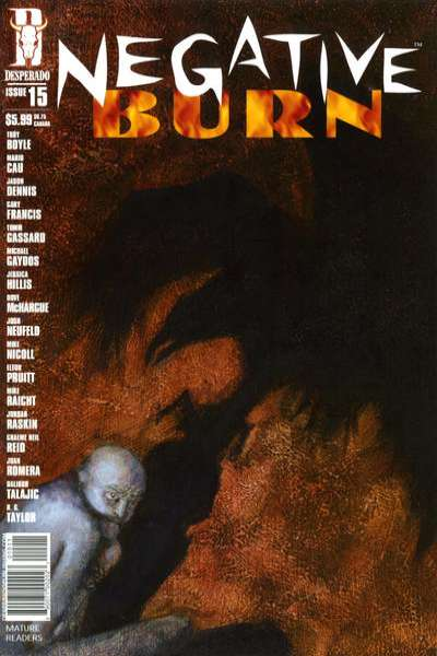 Negative Burn #15 Comic Books - Covers, Scans, Photos  in Negative Burn Comic Books - Covers, Scans, Gallery