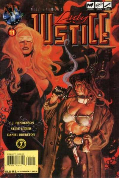Neil Gaiman's Lady Justice #11 comic books for sale