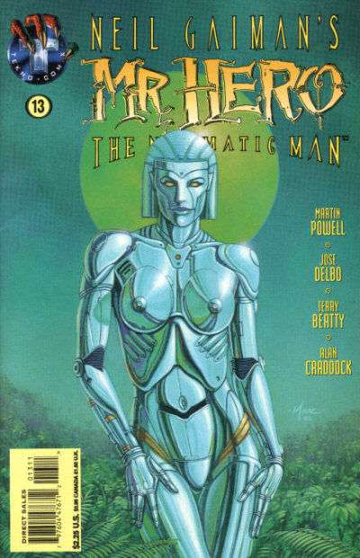 Neil Gaiman's Mr. Hero - The Newmatic Man #13 comic books for sale