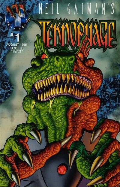 Neil Gaiman's Teknophage #1 comic books - cover scans photos Neil Gaiman's Teknophage #1 comic books - covers, picture gallery