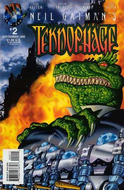 Neil Gaiman's Teknophage #2 comic books - cover scans photos Neil Gaiman's Teknophage #2 comic books - covers, picture gallery