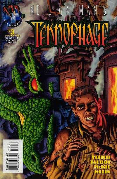 Neil Gaiman's Teknophage #3 comic books - cover scans photos Neil Gaiman's Teknophage #3 comic books - covers, picture gallery