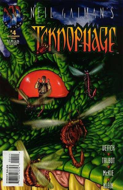 Neil Gaiman's Teknophage #4 comic books - cover scans photos Neil Gaiman's Teknophage #4 comic books - covers, picture gallery