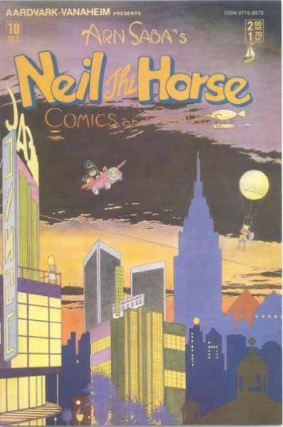 Neil the Horse Comics and Stories #10 Comic Books - Covers, Scans, Photos  in Neil the Horse Comics and Stories Comic Books - Covers, Scans, Gallery