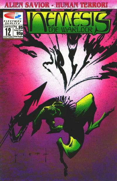 Nemesis the Warlock #12 Comic Books - Covers, Scans, Photos  in Nemesis the Warlock Comic Books - Covers, Scans, Gallery