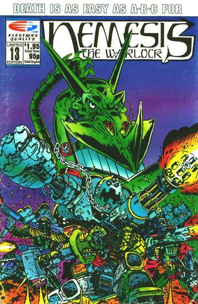 Nemesis the Warlock #13 Comic Books - Covers, Scans, Photos  in Nemesis the Warlock Comic Books - Covers, Scans, Gallery