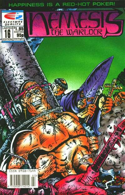 Nemesis the Warlock #16 Comic Books - Covers, Scans, Photos  in Nemesis the Warlock Comic Books - Covers, Scans, Gallery