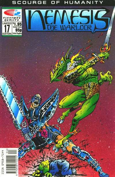 Nemesis the Warlock #17 Comic Books - Covers, Scans, Photos  in Nemesis the Warlock Comic Books - Covers, Scans, Gallery
