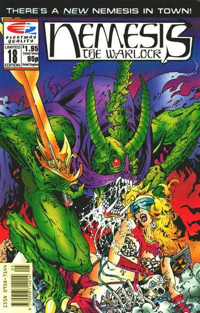 Nemesis the Warlock #18 Comic Books - Covers, Scans, Photos  in Nemesis the Warlock Comic Books - Covers, Scans, Gallery