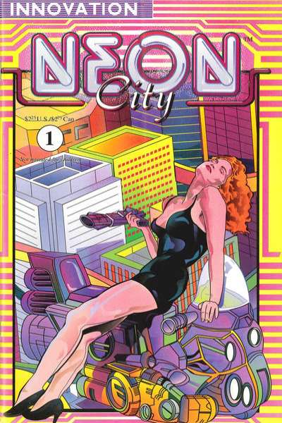 Neon City comic books