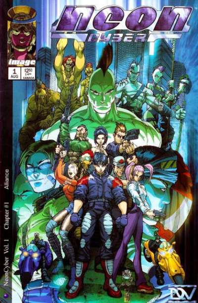 Neon Cyber #1 cheap bargain discounted comic books Neon Cyber #1 comic books