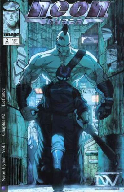 Neon Cyber #2 cheap bargain discounted comic books Neon Cyber #2 comic books