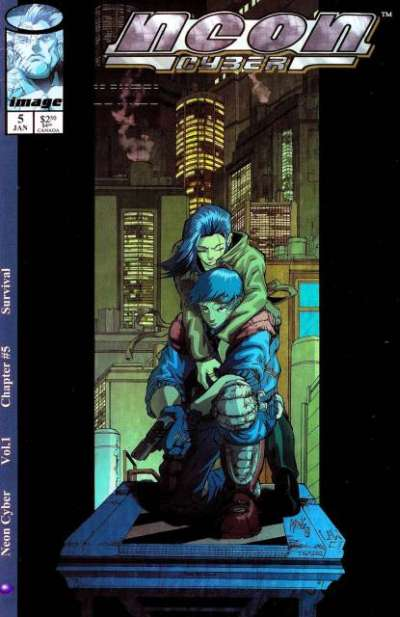 Neon Cyber #5 comic books for sale