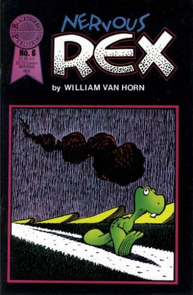 Nervous Rex #6 Comic Books - Covers, Scans, Photos  in Nervous Rex Comic Books - Covers, Scans, Gallery