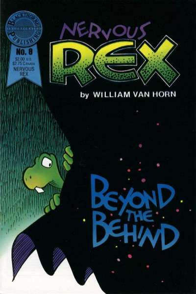 Nervous Rex #8 comic books - cover scans photos Nervous Rex #8 comic books - covers, picture gallery