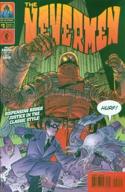 Nevermen #2 comic books - cover scans photos Nevermen #2 comic books - covers, picture gallery