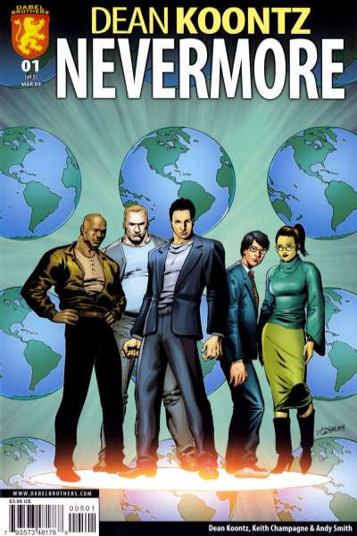 Nevermore comic books