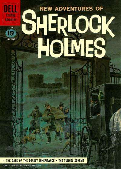 New Adventures of Sherlock Holmes comic books