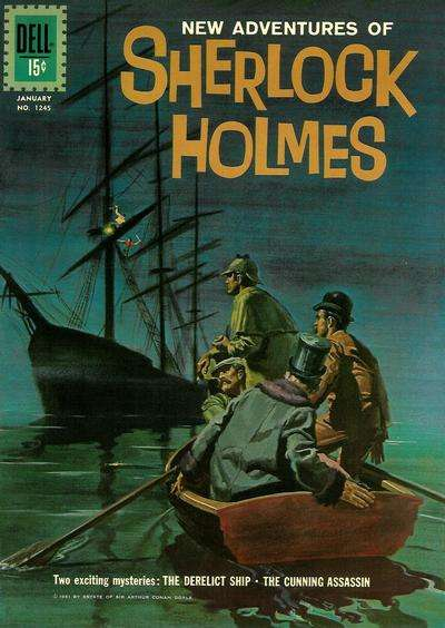 New Adventures of Sherlock Holmes #2 comic books for sale