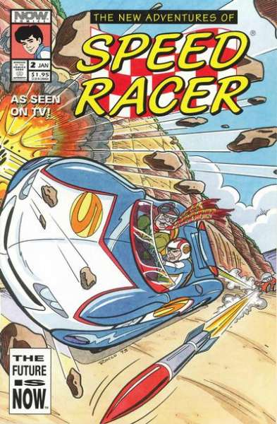 New Adventures of Speed Racer #2 Comic Books - Covers, Scans, Photos  in New Adventures of Speed Racer Comic Books - Covers, Scans, Gallery