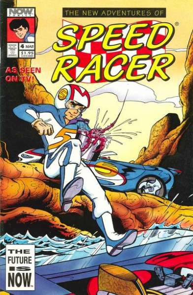 New Adventures of Speed Racer #4 comic books - cover scans photos New Adventures of Speed Racer #4 comic books - covers, picture gallery