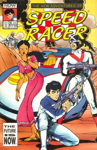 New Adventures of Speed Racer #5 Comic Books - Covers, Scans, Photos  in New Adventures of Speed Racer Comic Books - Covers, Scans, Gallery