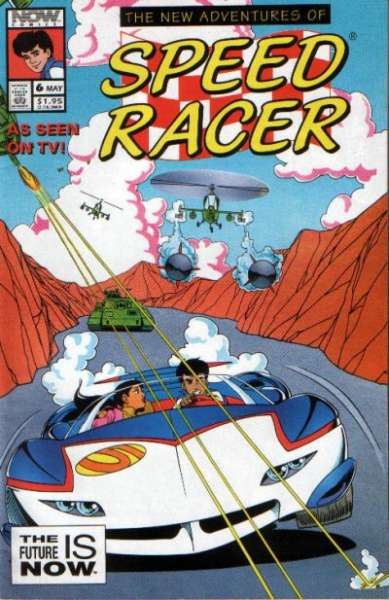 New Adventures of Speed Racer #6 comic books - cover scans photos New Adventures of Speed Racer #6 comic books - covers, picture gallery