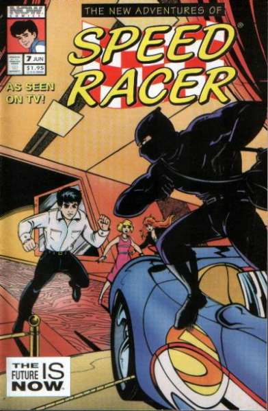 New Adventures of Speed Racer #7 comic books - cover scans photos New Adventures of Speed Racer #7 comic books - covers, picture gallery