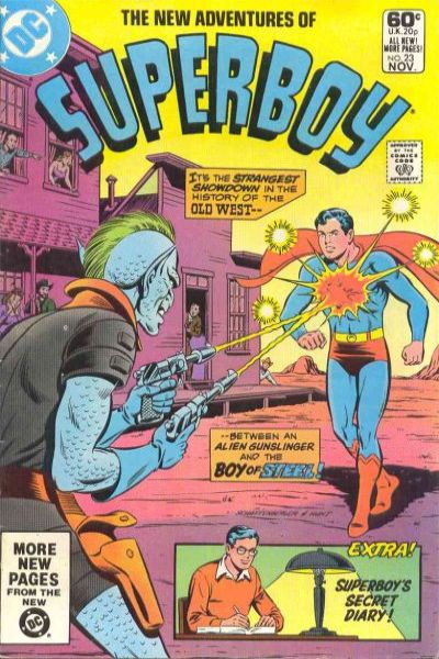 New Adventures of Superboy #23 Comic Books - Covers, Scans, Photos  in New Adventures of Superboy Comic Books - Covers, Scans, Gallery