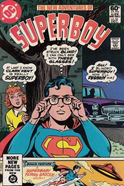 New Adventures of Superboy #24 comic books for sale