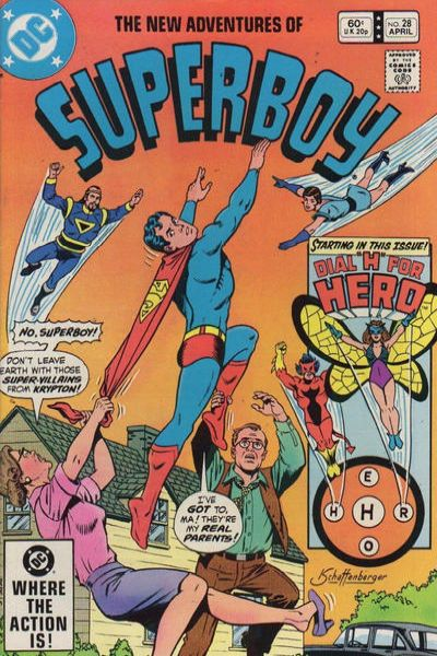 New Adventures of Superboy #28 Comic Books - Covers, Scans, Photos  in New Adventures of Superboy Comic Books - Covers, Scans, Gallery