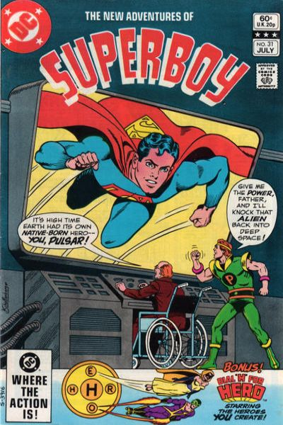 New Adventures of Superboy #31 Comic Books - Covers, Scans, Photos  in New Adventures of Superboy Comic Books - Covers, Scans, Gallery