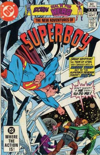 New Adventures of Superboy #33 comic books for sale