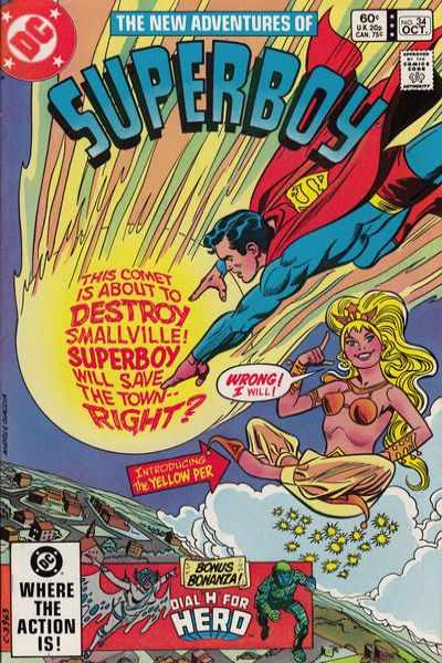 New Adventures of Superboy #34 Comic Books - Covers, Scans, Photos  in New Adventures of Superboy Comic Books - Covers, Scans, Gallery