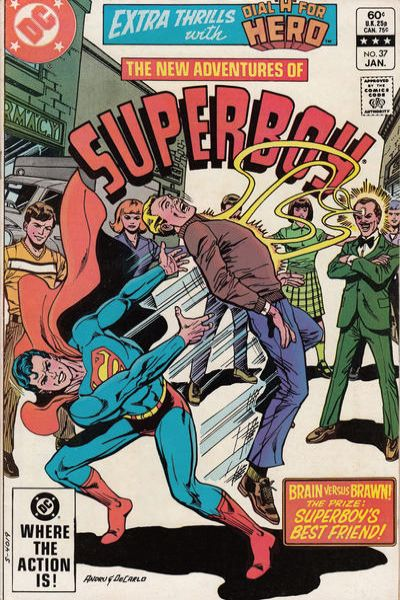 New Adventures of Superboy #37 Comic Books - Covers, Scans, Photos  in New Adventures of Superboy Comic Books - Covers, Scans, Gallery